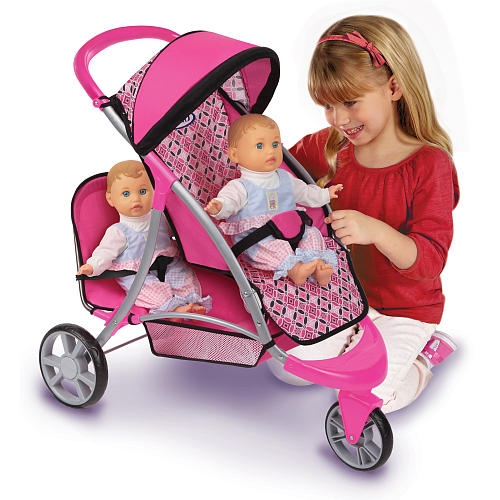 Double Stroller Jogger Reviews Tollytots Graco Duo Jogger Toy Stroller Review