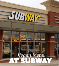 subway vegan menu
