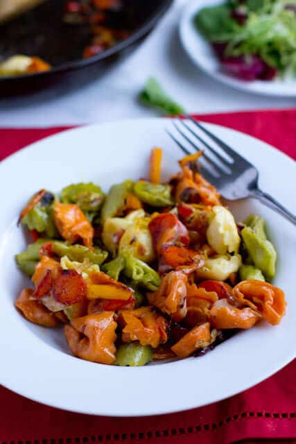 Basil Sun Dried Tomato Chicken Tortellini - Oh Sweet Basil - dinner menu