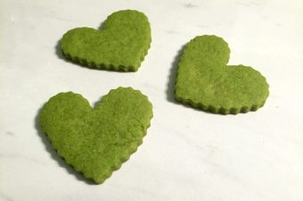 Green Tea Lemon Sugar Cookies