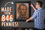 Abe Lincoln Penny Poster