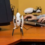 Motion Activated Portal 2 Sentry Turret