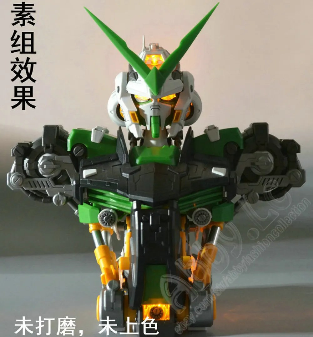 Led You Astray Details About Motorking 1 35 Astray Green Frame Gundam Bust Head Led Metallic Colored Frame