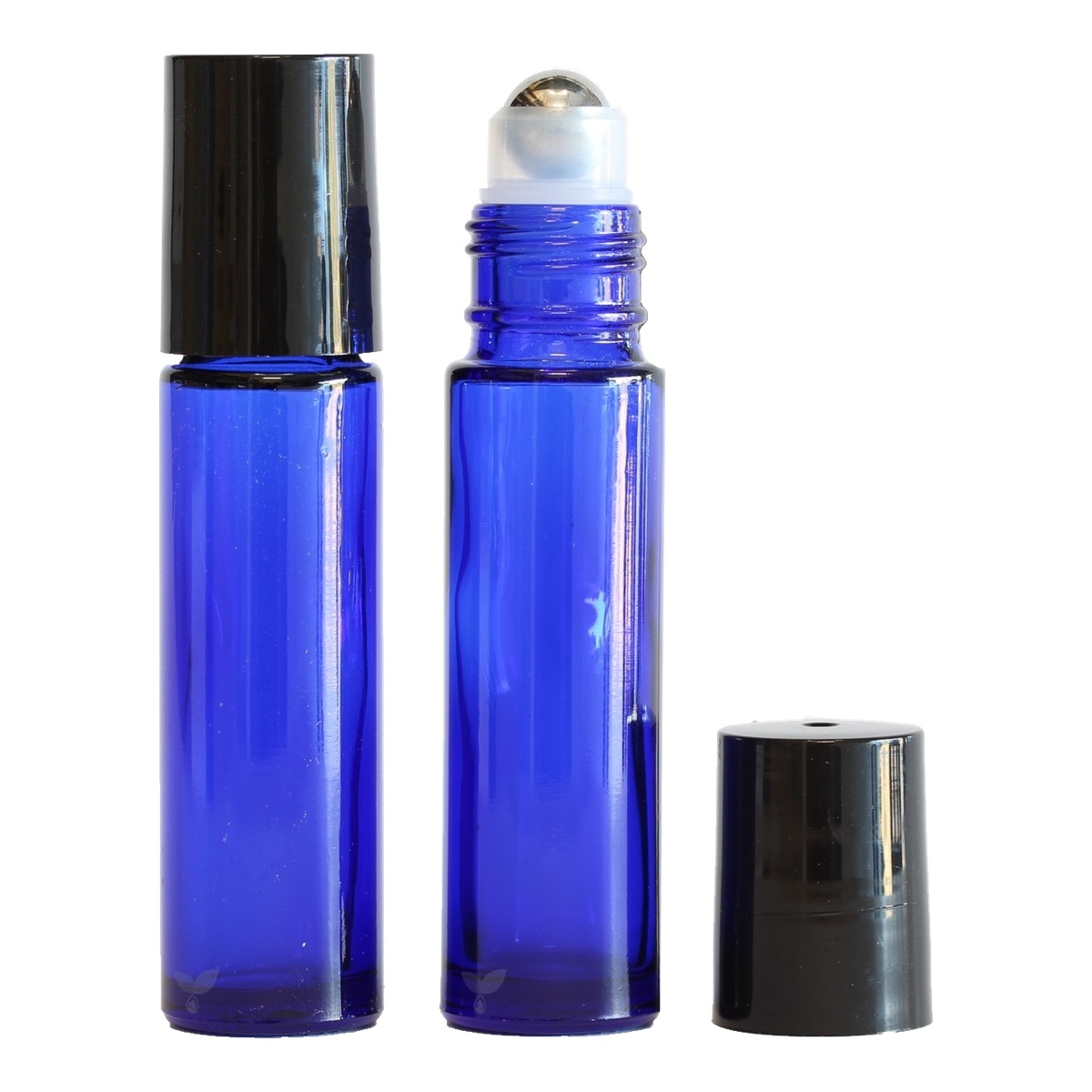 Roller Australia 10ml Cobalt Blue Thick Glass Roller Bottle Oils For Life Australia