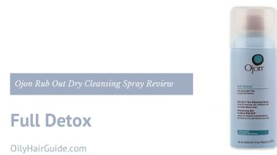 Ojon Full Detox Rub Out Dry Cleansing Spray Review