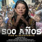 500 AÑOS square poster