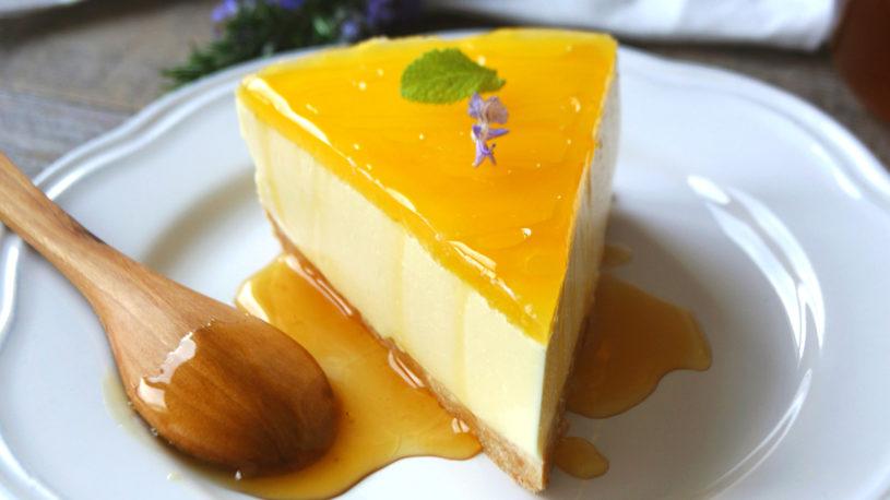 Tarta de naranja (sin horno)