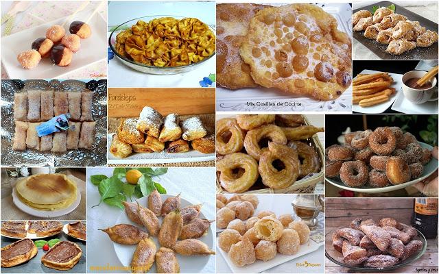 Dulces de sartén