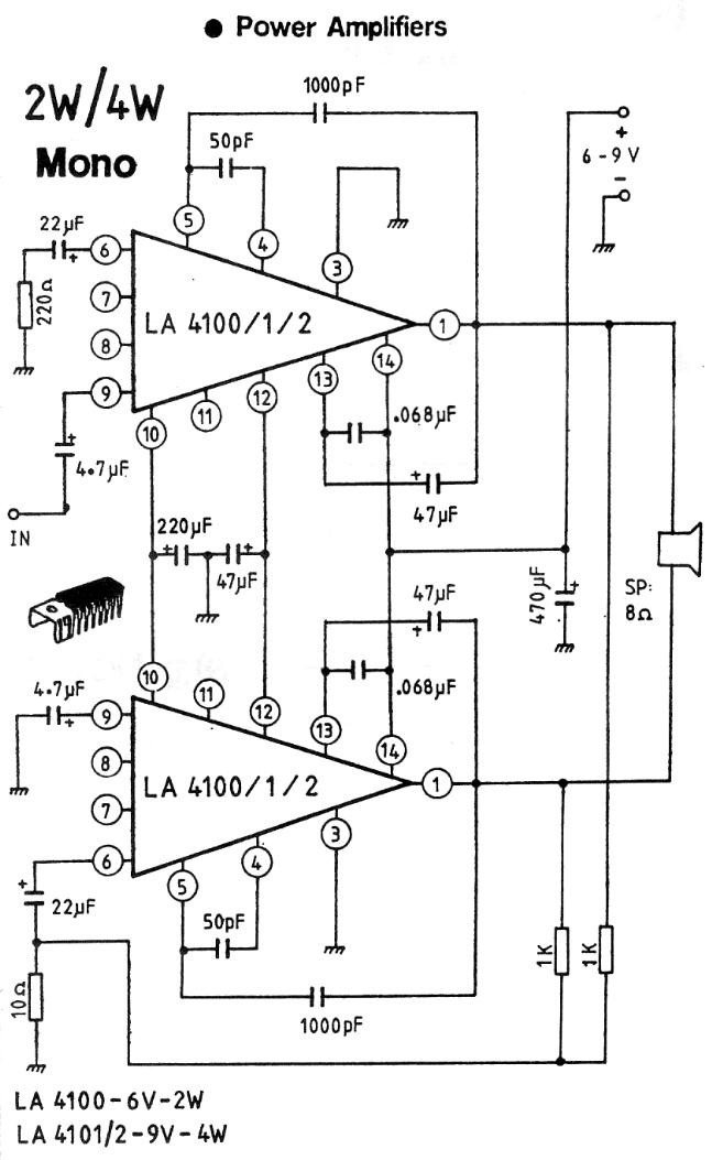 rf amplifiers circuit diagram this circuit based on the lm324 ic