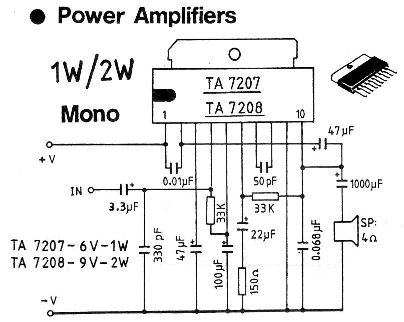 power amp 10 w for fm transmitter circuit diagram
