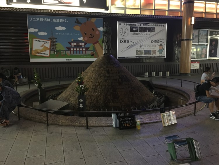 9月18日、映画祭で盛り上がる中、近鉄奈良駅行基前で第79回「無料で愚痴聞きます」やります!