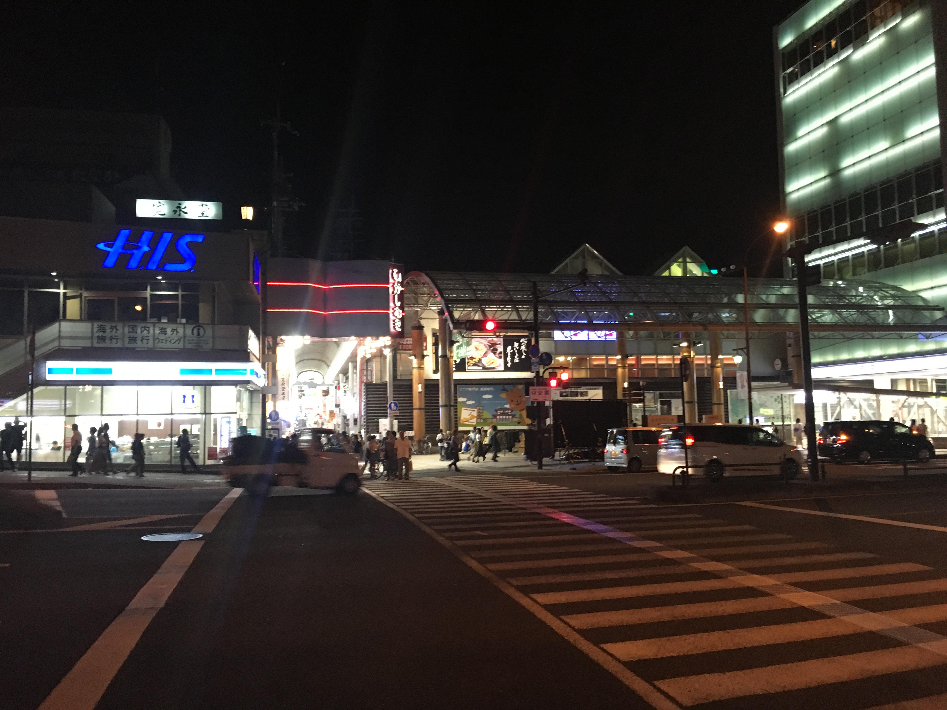 近鉄奈良駅北側から