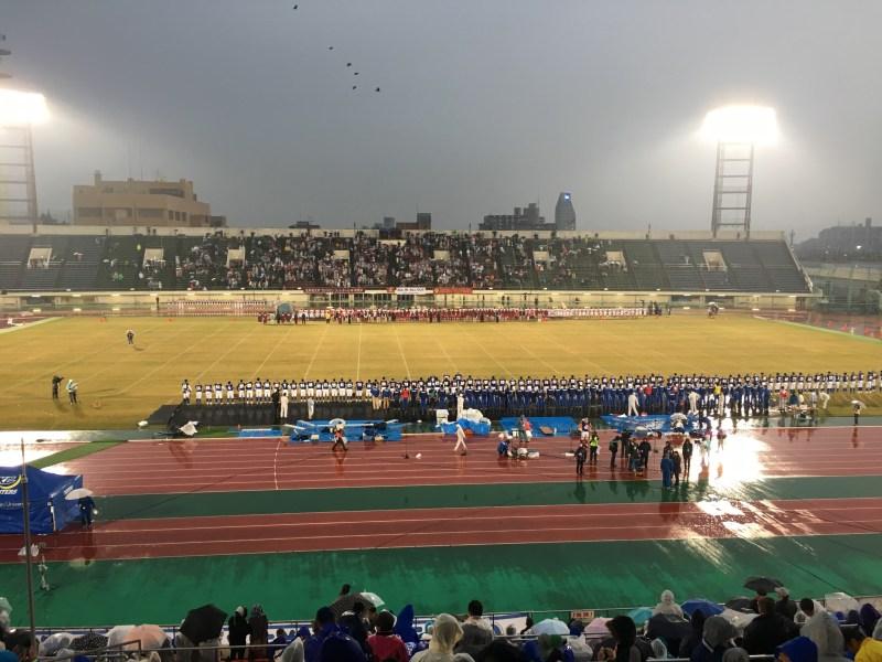 WESTERN JAPAN BOWL 2016 関学大VS立命大 観戦して 後半