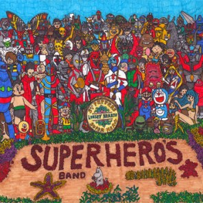 SGT. PEPPER'S LONELY HEARTS SUPERHERO'S BAND (2012) SOLD