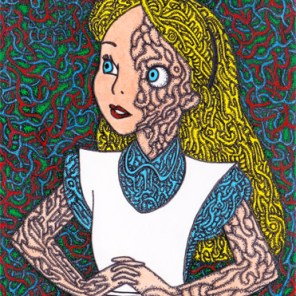 Alice in Psychedelic (2015) SOLD