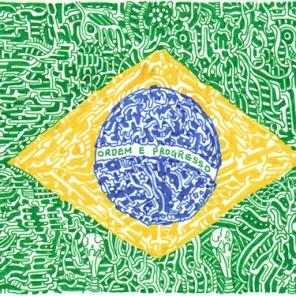 Golden Brazil (2011) SOLD