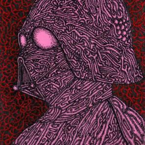 Pink Vader (2015) SOLD