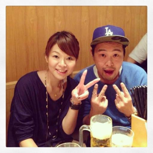 With my sister, Natsumi