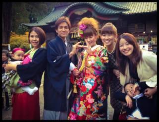 Minoru Komoriya & Natsumi Yamashita Wedding, Yamanashi