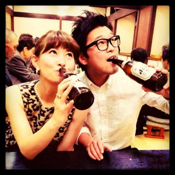 Asahi time with Nori chan