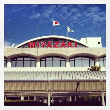 I arrived at Miyazaki!
