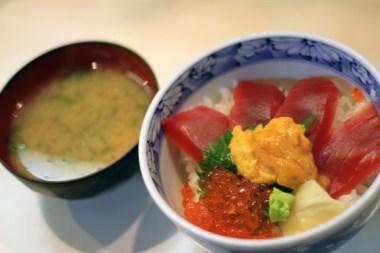 Fish Bowl, Tsukiji, Tokyo