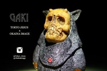 """GAKI"" Tokyo Jesus x OKAINA IMAGE"