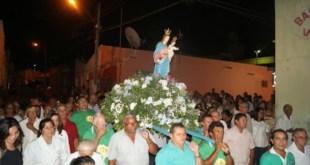 Em Penaforte Católicos participam do encerramento da festa da Padroeira