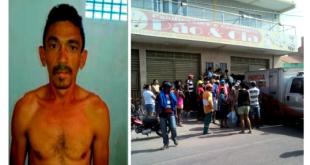 Mauriti-CE: Homem é assassinado dentro de padaria; Imagem forte