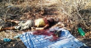 Abaiara-CE: Corpo de homem é encontrado com varias perfurações; Imagens fortes