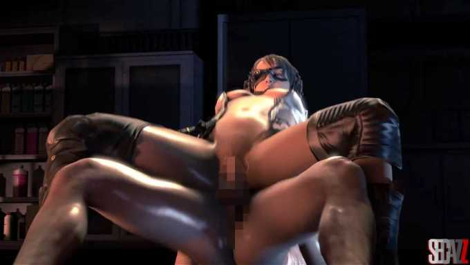 [3DCG,SFM] クワイエットが騎乗位でガン突きされるエロ動画 [メタルギアソリッドV] (3)