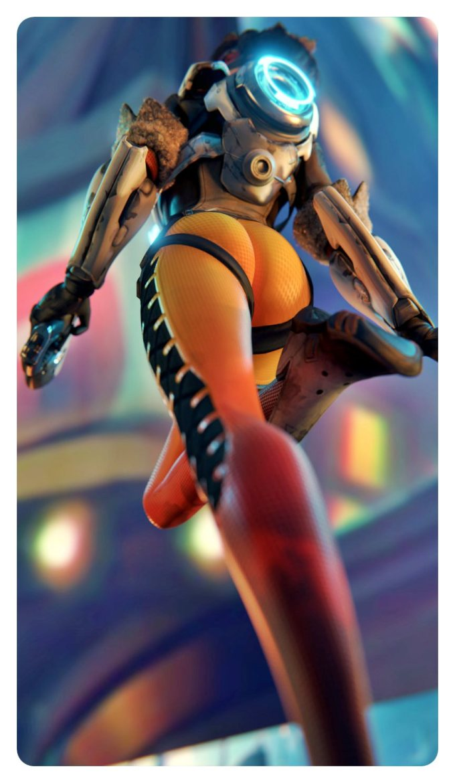 [Overwatch] キャラクターがエロすぎてプレイに集中できないwww Part6 [3DCG,SFM] (55)