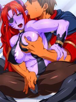 女悪魔のエロ画像 01【モンスター娘】