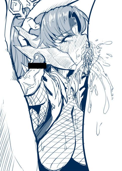 [A極振り (Sian)] 巨乳とビッチに定評のある絵師、Sianのエロ画像集めた 02 (34)