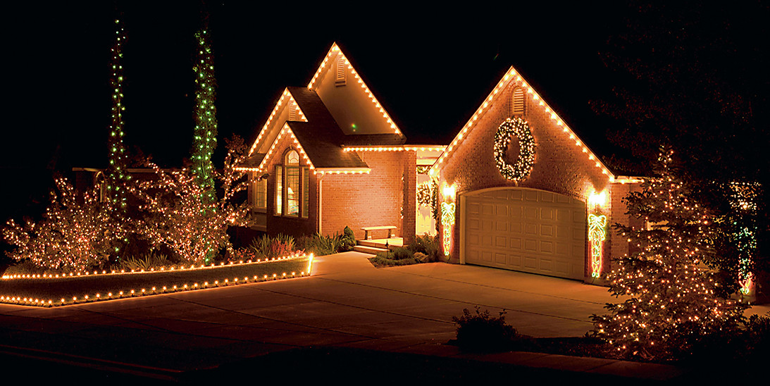 Home Christmas Lights by Forrester