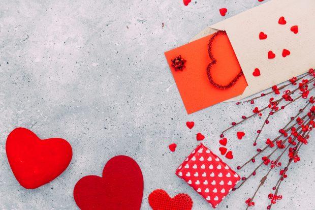 Postales de San Valentin 2018 para hacer manualidades con niños