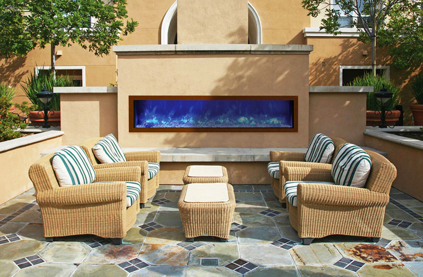 Outdoor Fireplace Electric Outdoor Electric Fireplaces Okell S Fireplace San Francisco Ca