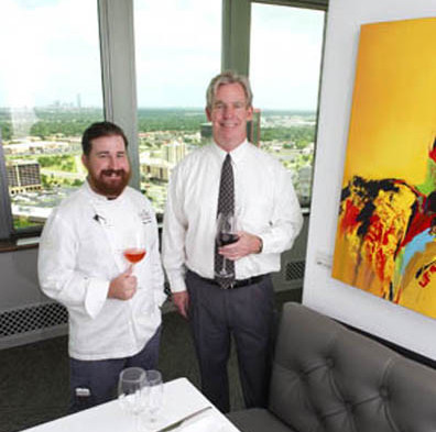 A New Steakhouse Provides A View And Great Food