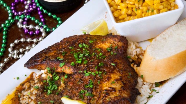 Blackened Catfish at The Big Easy New Orleans Cafe (Shannon Cornman)