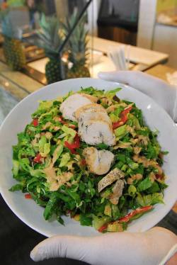 Chipotle Chicken salad at Cool Greens.  mh