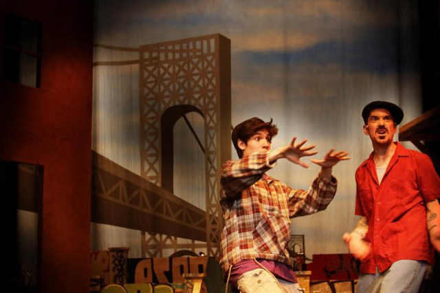 Polllard Theatre Company cast members rehearse for In the Heights.