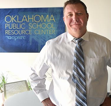 Brent Bushey, director for the Oklahoma Public School Resource Center.  mh