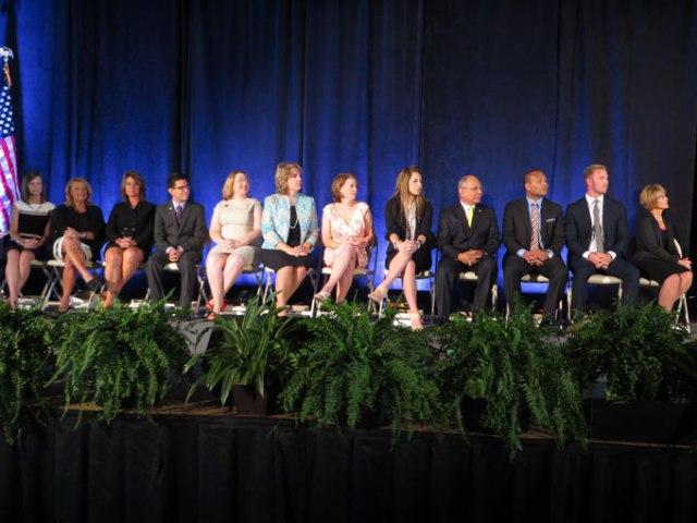 Twelve finalists for Oklahoma Teacher of the Year (Brett Dickerson/Provided)