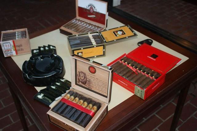 Oklahoma City Charity Scotch Tasting features a cigar bar. (Provided)
