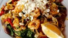 Mediterranean pasta at Flip's in Oklahoma City, Thursday, Nov. 19, 2015.  (Garett Fisbeck)