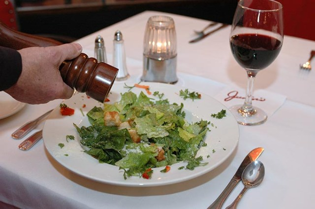 Junior's Caesar salad (Gazette Staff / File)