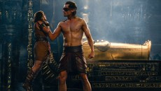 Bek (Brenton Thwaites, left) and Horus (Nikolaj Coster-Waldau, right) in GODS OF EGYPT. Photo Courtesy of Lionsgate.