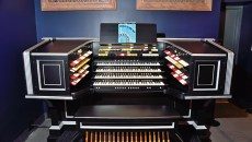 The restored Kilgen Wonder Organ, on exhibit at the Oklahoma History Center, 1-25-16.  (Mark Hancock)
