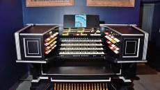 The restored Kilgen Wonder Organ, on exhibit at the Oklahoma History Center, 1-25-16.  (Mark Hancock)