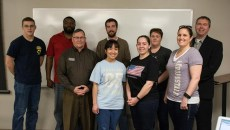 Student Veterans of America meeting at Oklahoma Christian in Edmond.  (Abby Bellow)